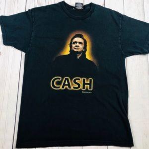 Johny Cash 2004 Official Concert T Shirt Size L